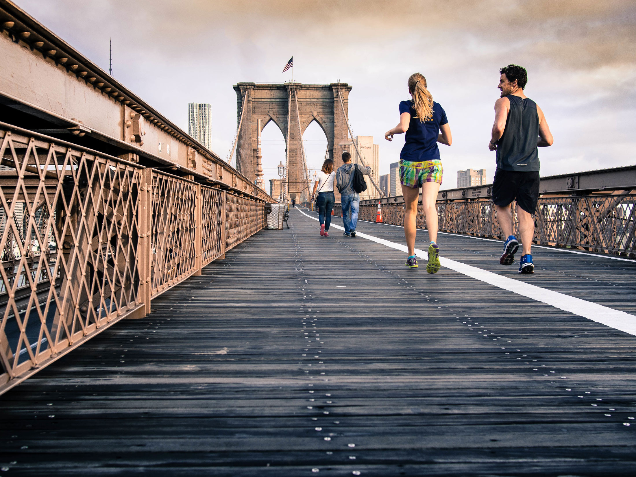 Running and walking are both important aspects of general wellness.