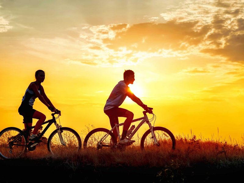 Riding bicycles can be an excellent way to maintain general wellness.
